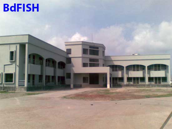 Office-cum-laboratory Building of Shrimp Research Station of Bagerhat District