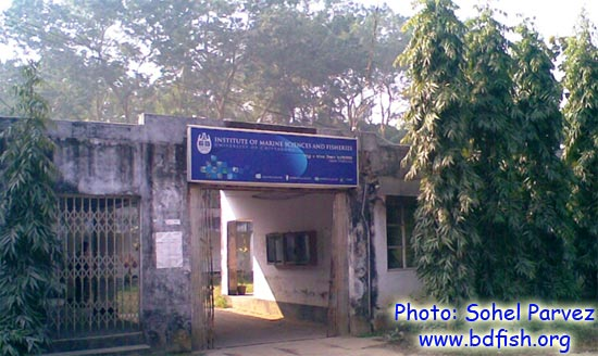 Entrance of Institute of Marine Sciences and Fisheries, University of Chittagong, Bangladesh
