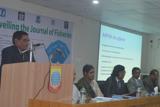 Speech by Professor Sayen Uddin, Treasurer, University of Rajshahi  as a Speicial Guest
