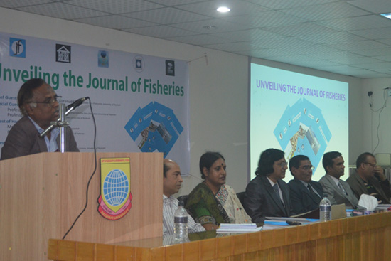 Speech by Professor Shafiqure Rahman, Chairman, Department of Zoology, University of Rajshahi as a Guest Speakers
