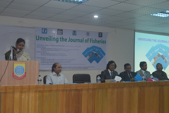 Speech by Professor Shahana Qais, Dean, Faculty of Agriculture, University of Rajshahi as a Guest Speakers