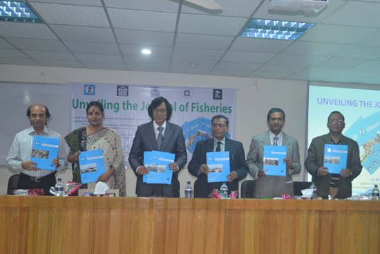 Unveiling the Journal of Fisheries by Honourable Guests