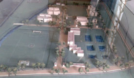 Layout of the College Campus