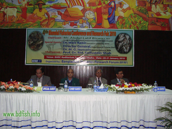Chief Guest, special guests and chairperson of the conference