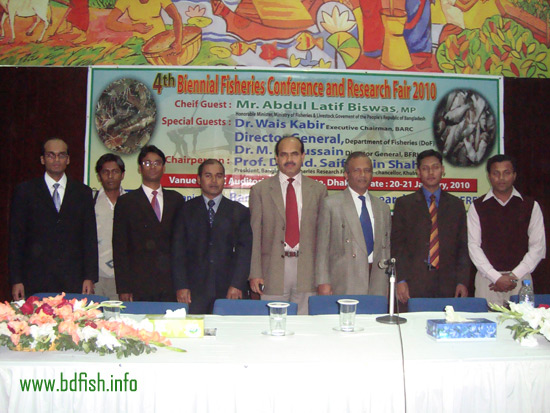 Participants of Rajshahi University in the conference