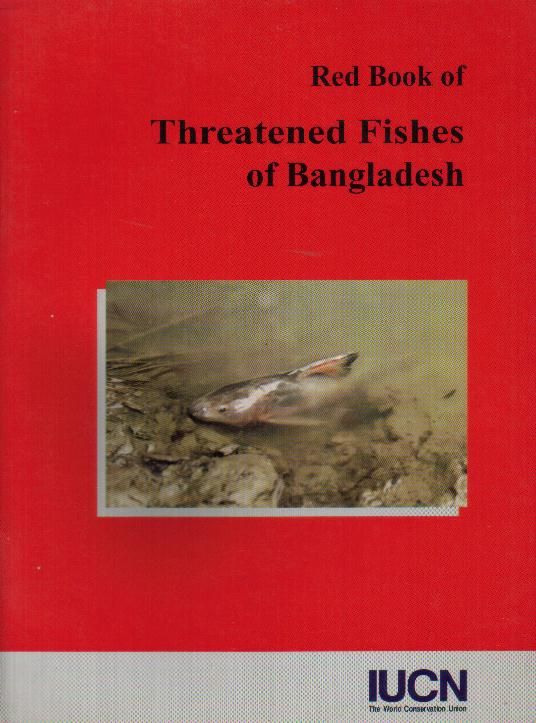 Cover page of Red Book of Threatened Fishes of Bangladesh