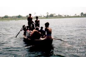 A boat on the Baluhar Baor