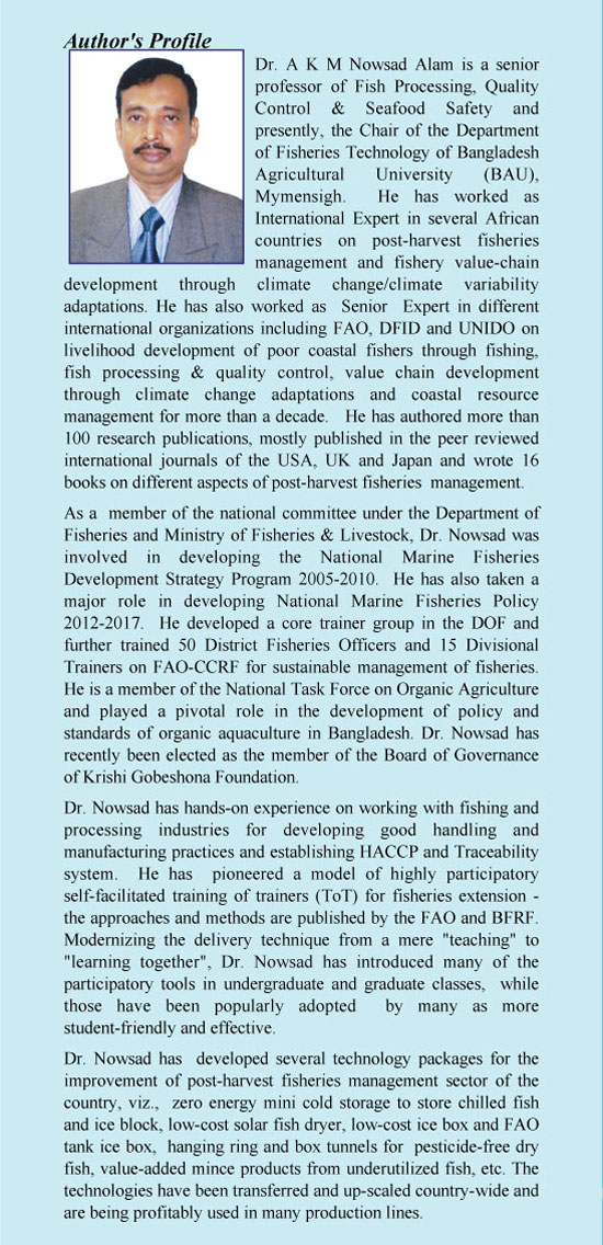 Author Profile: Professor Dr. A K M Nowsad Alam